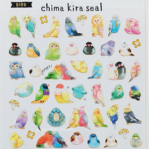 [씰] Chima kira seal : BIRD