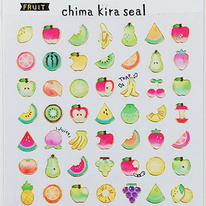 [씰] Chima kira seal : FRUIT