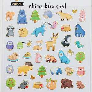 [씰] Chima kira seal : ANIMAL